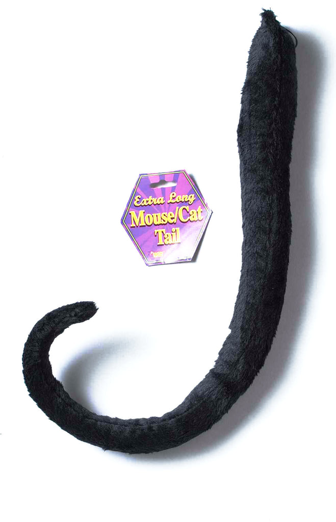 Mouse/Cat Tail Long Black