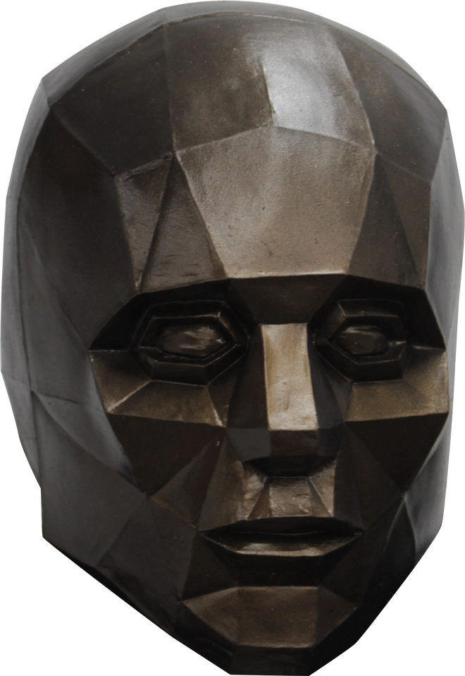 Low Poly Portarit Mask