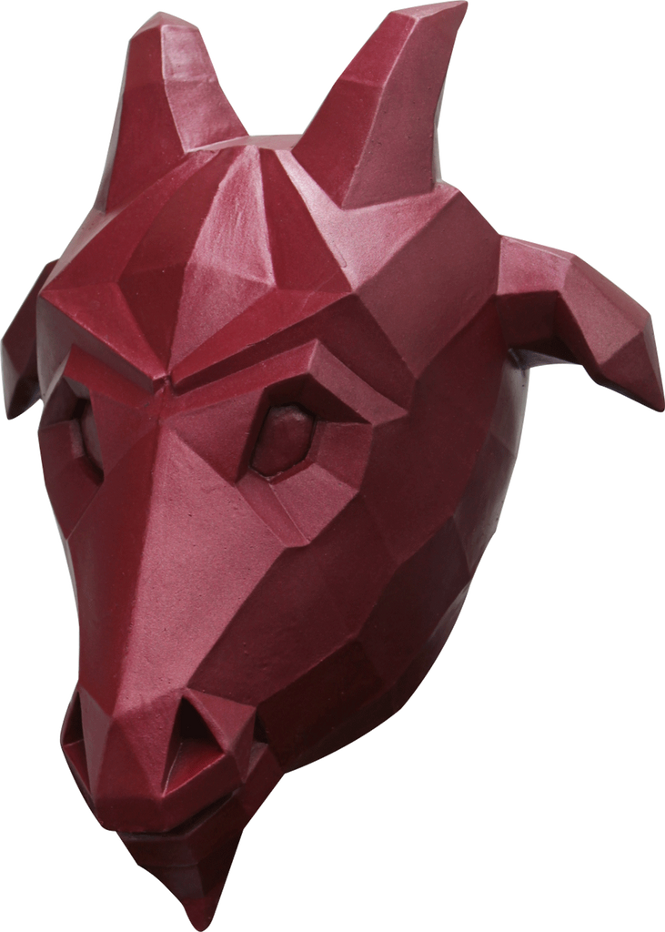 Low Poly Goat Mask