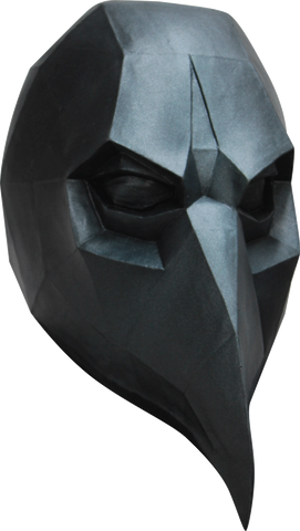 Low Poly Crow Mask
