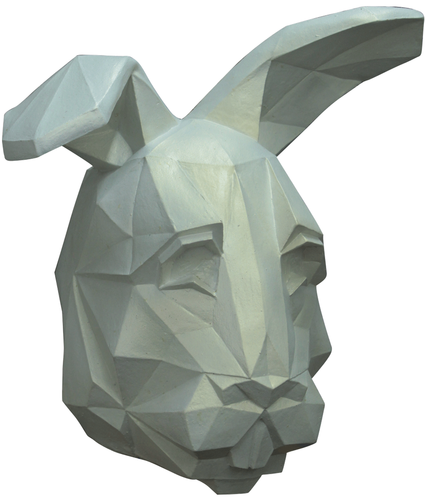 Low Poly Bunny Mask