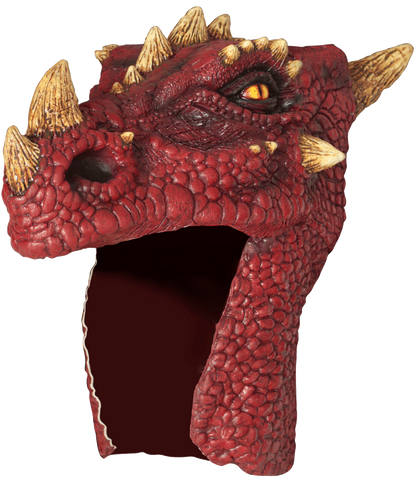Dragon Helmet Red