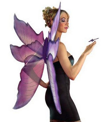 Fairy Wings Purple/Silver