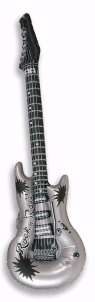 "40"" Inflatable Guitar Silver/Gold"