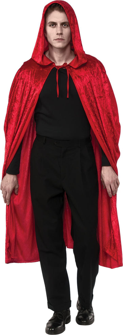 Full Length Cape with Hood Red