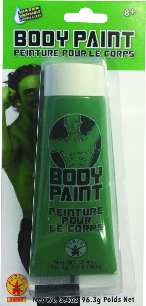 Green Body Paint