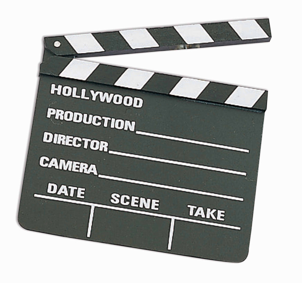 Movie Clapper Board Regular Size