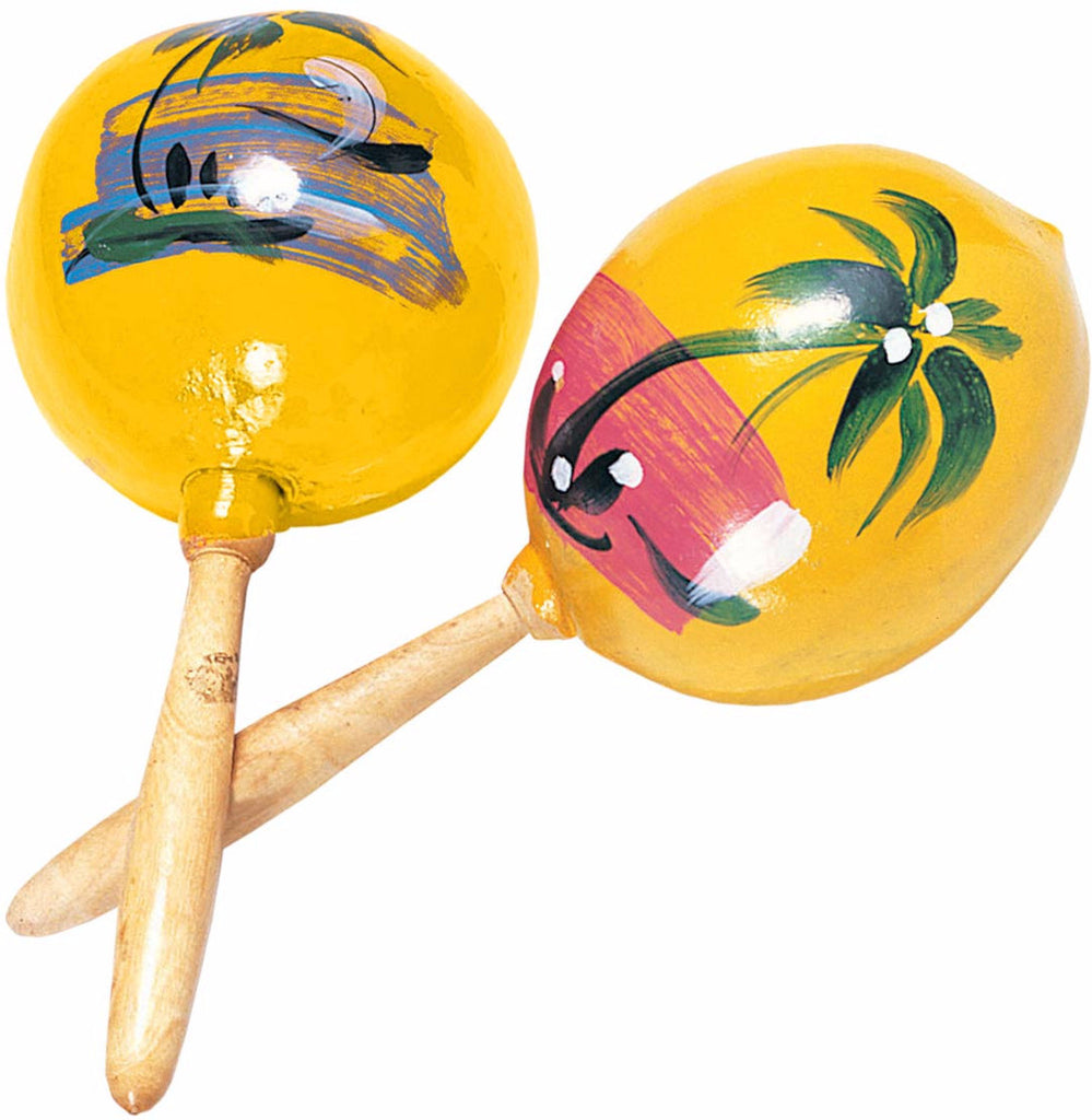 Wood Maracas Yellow