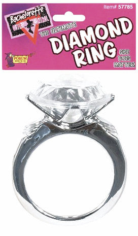 Bachelorette - Ultimate Diamond Ring Silver