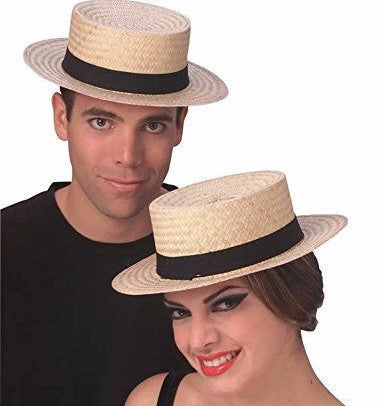Economy Straw Sailor Hat