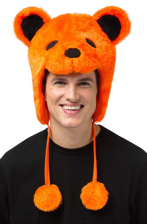 Grateful Dead Bear Hat Orange