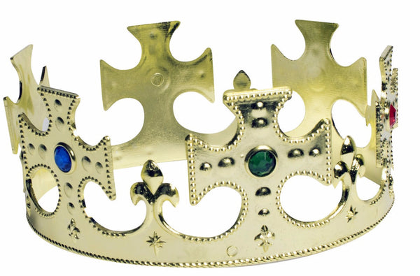 Prince Crown Gold Plastic