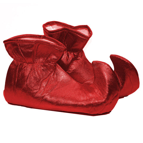 Elf Shoes - Red Cloth