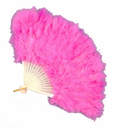 Feather Fan Pink