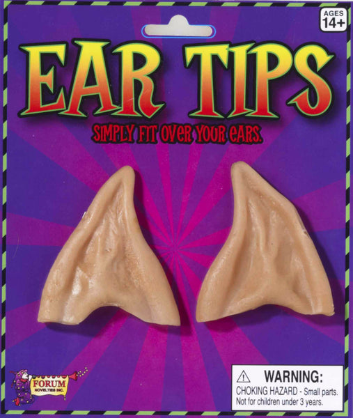 Pointed Ear Tips Beige