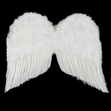 "Feather Wings 36"" White"