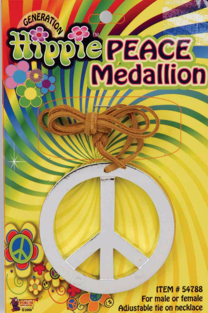 Peace Medallion Silver