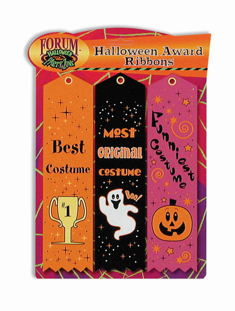 Halloween Award Ribbon Set