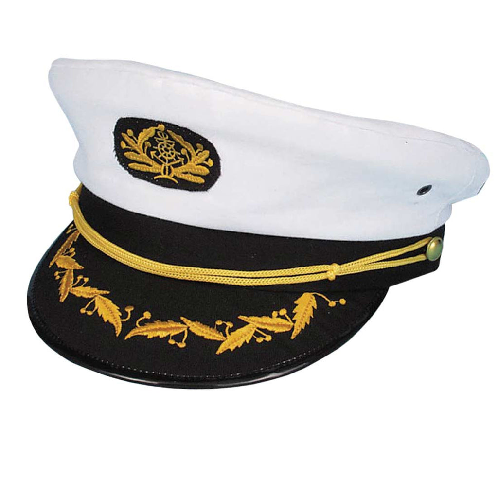 Captain Hat  White