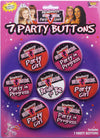 Bachelorette Party Buttons