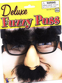Deluxe Fuzzy Puss Carded