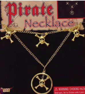 Pirate Necklace Gold