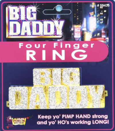 Big Daddy Four Finger Ring