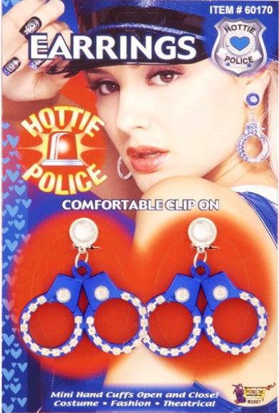 Hottie Police Handcuff Earring