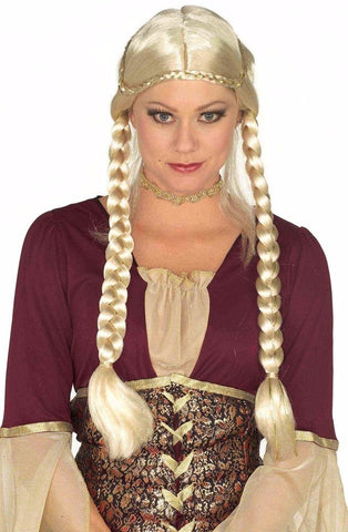 Braided Renaissance Wig Blonde
