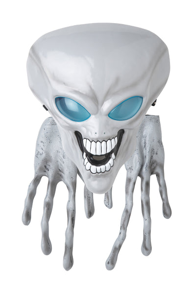 Alien Mask & Hands White
