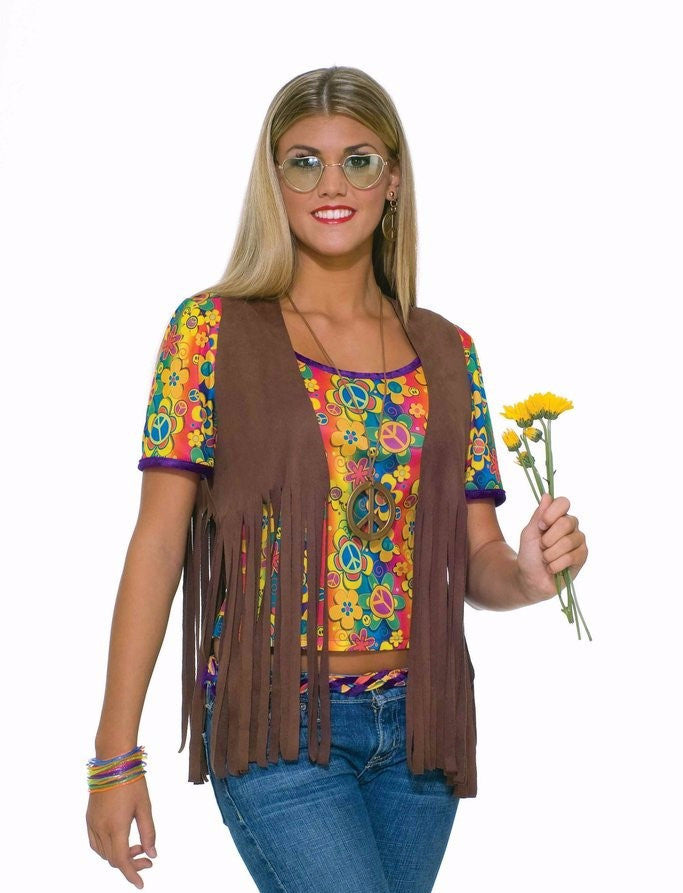 Sexy Hippie Vest Female