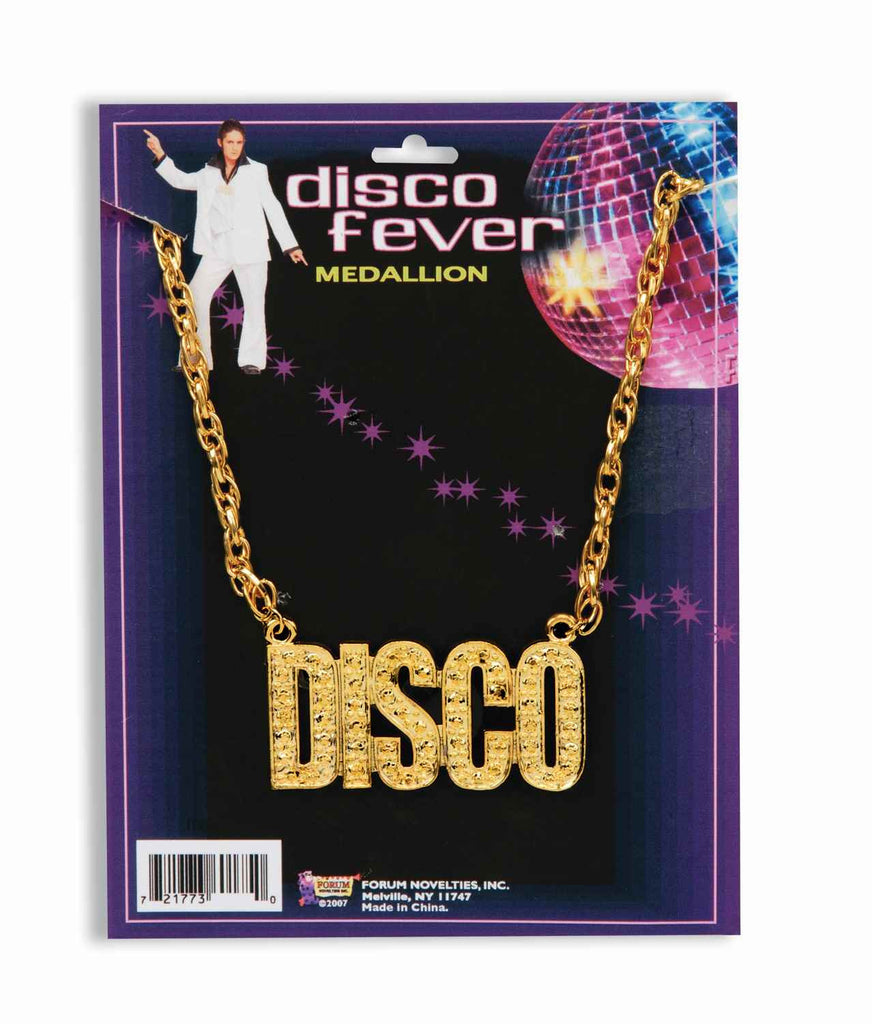 Disco Necklace Gold