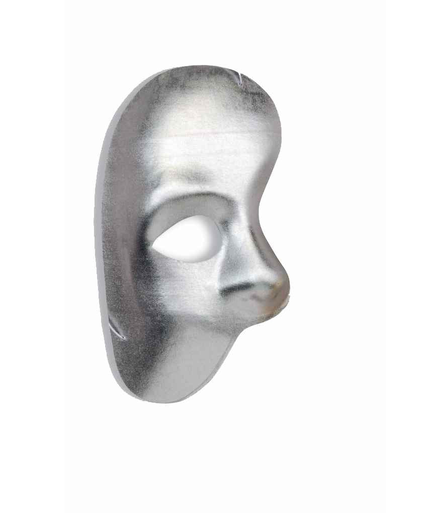 Half Mask Phantom Silver