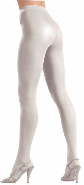 Tights White Queen/Plus Size