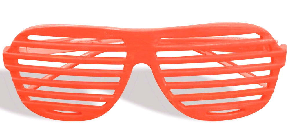 Slot Glasses Neon Orange