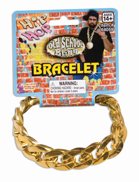Big Links Bracelets Gold
