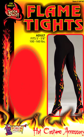 Devil Flame Tights