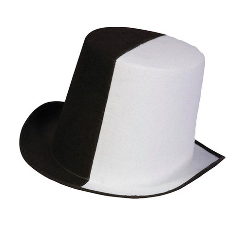 Black & White Top Hat