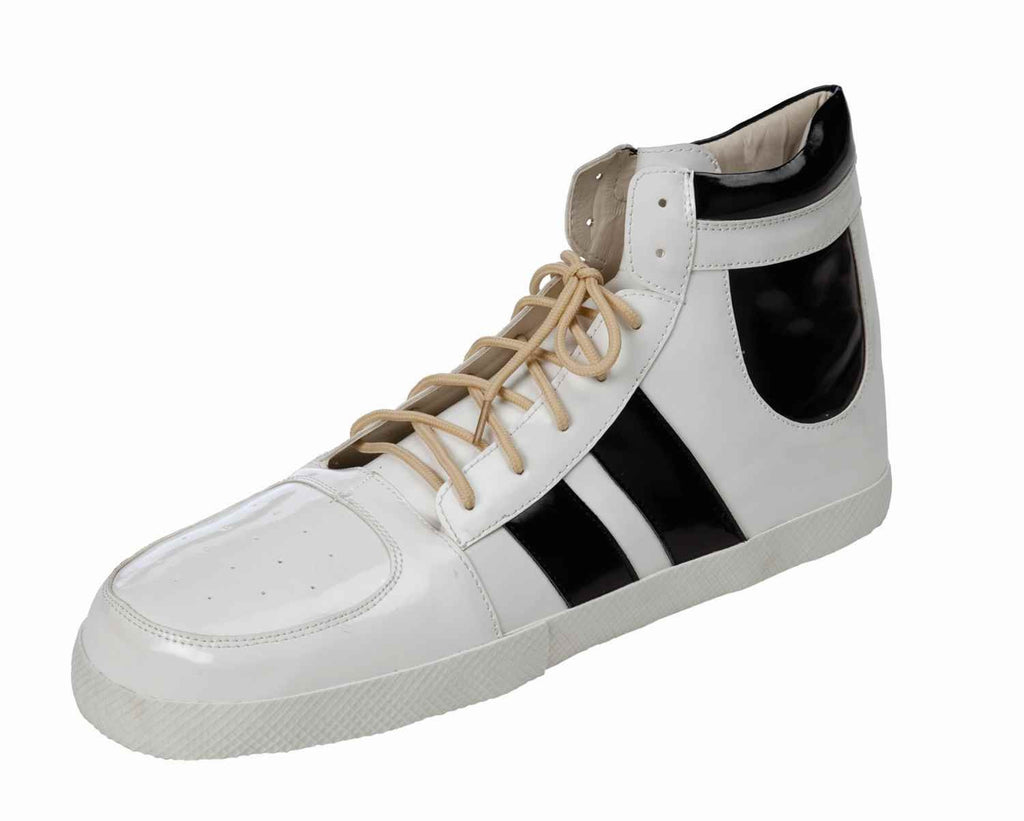 Hip Hop Jumbo Sneakers Black/White