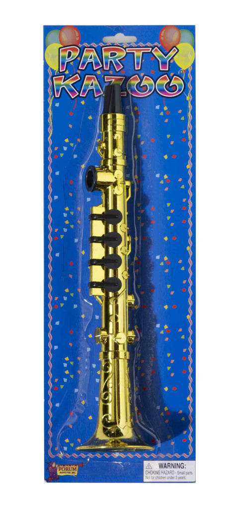 Clarinet Kazoo Gold