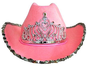 Cowgirl Hat with Tiara