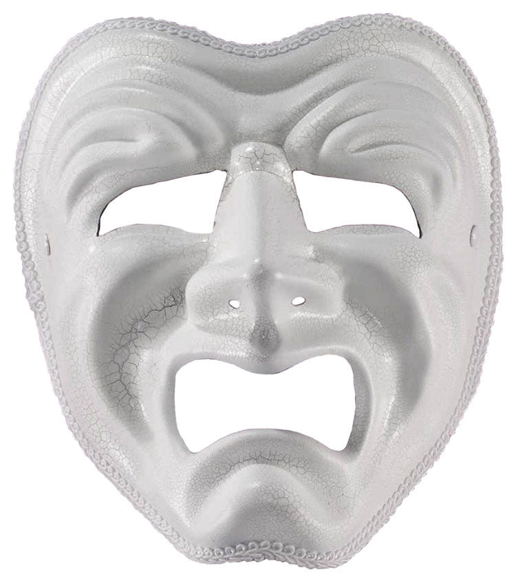 White Tragedy Mask