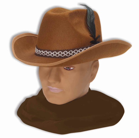 Cowboy Hat Felt Brown
