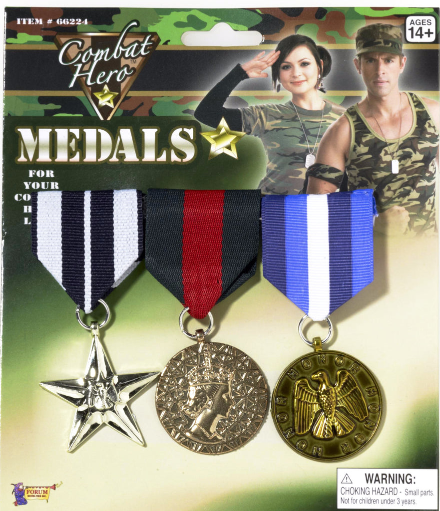 Military Medals 3 Set