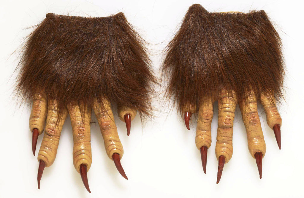 Latex Werewolf Claw Hands