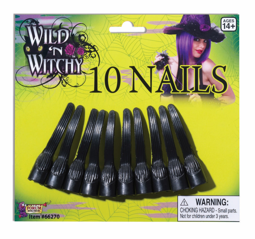 Nails Wild & Witchy Black