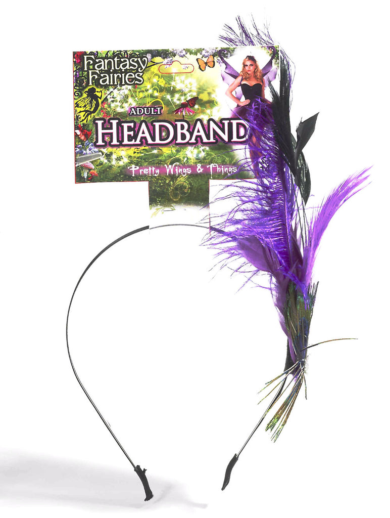 Fantasy Fairies Peacock Headband