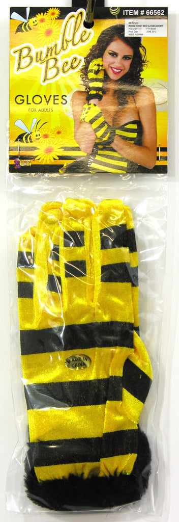 Honey Bee Gloves Short