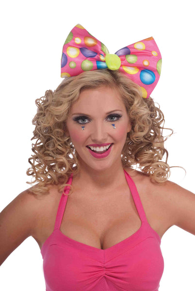 Circus Sweetie Headband Bow
