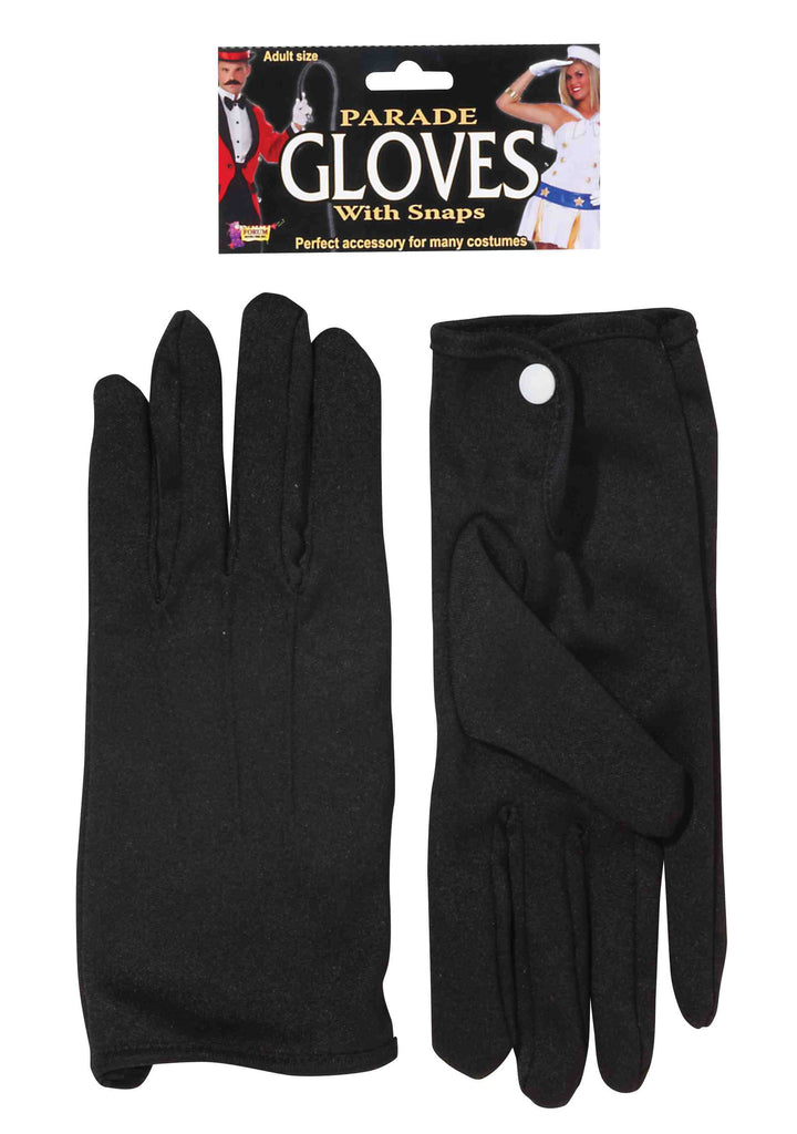 Parade Gloves Short with Snap Black